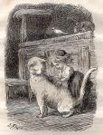 "Illustration for story La Mère Bontemps"" by Lorenz Frolich"