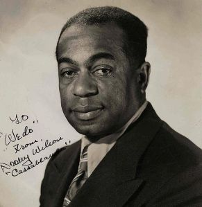 "Arthur ""Dooley"" Wilson, aka, Sam the piano player."