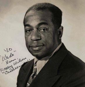 "Arthur ""Dooley"" Wilson, aka, Sam the piano player."
